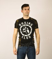 "Футболка ""Boxing Club"" (черная)"
