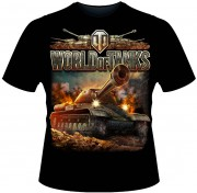 "Футболка ""World of tanks: ИС"""
