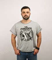 "Футболка ""The Mad Dog"" (серая)"